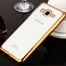 Funda case silicona con borde de color metalizado Samsung Galaxy Grand Neo Plus
