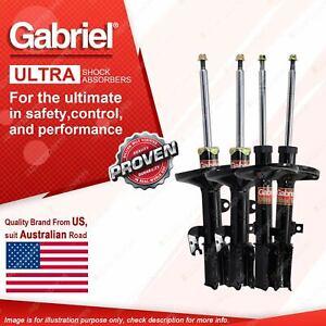Gabriel Front + Rear Ultra Strut Shocks for Toyota Camry ACV40R AHV40R Sedan