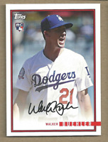 Walker Buehler 2018 Topps On Demand Rookie Year Review #34 Los Angeles Dodgers