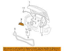 GM OEM Trunk-Lock or Actuator Latch Release 20815647