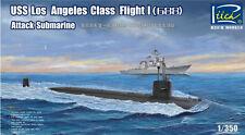 USS Los Angeles Class Flight I model Submarine 1/350