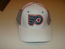 2012-13 Zephyr Philadelphia Flyers NHL Hockey Flex Fit Hat Cap Cut Up White XL
