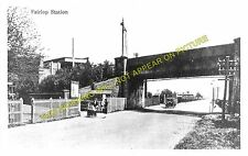 Fairlop Railway Station Photo. Barkingside - Hainault. Ilford to Chigwell (2)