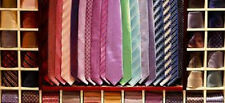 LOT OF 50 ASSORTED DESIGNER MENS NECK TIES WHOLESALE LIQUIDATION CLOTHING