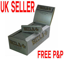 Orignal Rizla Silver Standard/ Regular Size Rolling Papers Full Box
