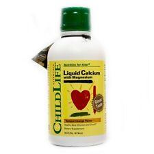 Child Life Liquid Calcium w/Magnesium 16Oz,Orange,Clearance for exp date 10/2020