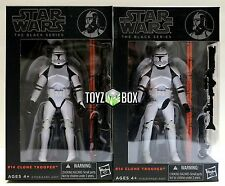 "In STOCK Star Wars Black Series #14 ""Clone Trooper"" 2 SET AOC 6 In Action Figure"