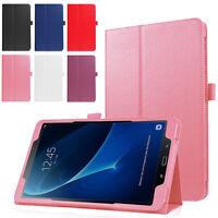"Premium Slim Folio Stand Shell Case Cover for Samsung Galaxy Tab A 10.1"" SM-T580"
