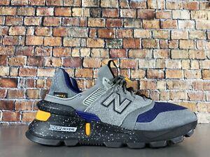 New Balance 997 Sport Mens Running Shoes Grey Black Blue MS997SC Size 6.5
