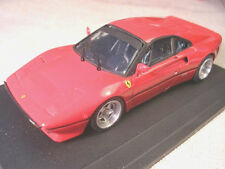 FERRARI 288 GTO RED ROAD CAR 1985 BURAGO ROBUSTELLI 1/43 TRUE