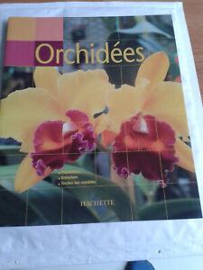 """Livre """" Les Orchidées"""" Hachette"""