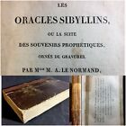 1817 Original 4th Pub Very Rare Book by LeNormand Fortune Telling Playing Cards