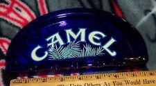 CAMEL COBALT BLUE ASHTRAY NEAT SHAPE