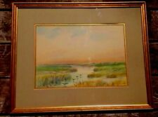 WATERCOLOR PAINTING BY CONNECTICUT ARTIST CHARLES RUSSELL LOOMIS