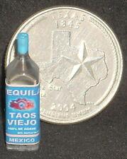 Dollhouse Miniature Taos Viejo Tequila 1:12 Margarita Alcohol Bar Drink 53092C