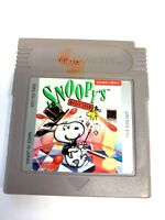Snoopy's Magic Show Nintendo Original Game Boy Game - Tested & Working!