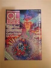 Sinclair QL User Magazine ~ dec 1985 ~ Computer Articles ~ G/C