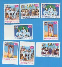 YEMEN - YAR - Michel 781-784 perf & imperf - Space Apollo 11 - VFMNH - 1969
