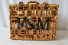 Fortnum & Mason Wicker Picnic Hamper Basket Small