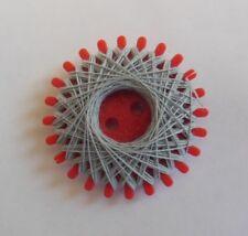 Ancienne plaquette de fil en polyester 20 / 3 - couture, mercerie