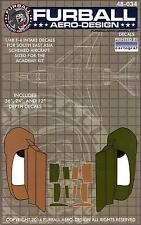 Furball Decals 1/48 F-4 INTAKE DECALS for Southeast Asia Schemed F-4 Phantom II