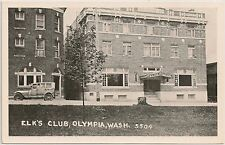 Elk's Club in Olympia WA Postcard