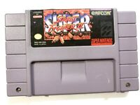 ***Street Fighter II 2 The New Challengers SUPER NINTENDO SNES Game - Tested***