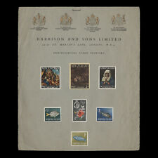 Omnibus 1963 Harrison & Sons promotional cover
