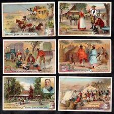 In Transvaal Card Set Liebig 1899 South Africa Gold Mines Kruger Boer Post Rand