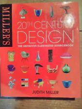 MILLERS 20TH CENTURY DESIGN ,FURNITURE ,CERAMICS 304 PAGES FULL OF COLOUR PHOTOS