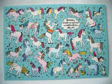 *Rate&Such*Postkarte*Einhorn*Welches Einhorn ist eine verkleidetes..?*10 x 15cm
