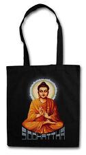 SIDDHATTHA GOTAMA VINTAGE Hipster Shopping Cotton Bag - Buddhism India Govinda