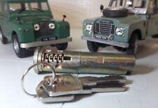 Door Handle Lock Barrel & Keys 320609 Land Rover Series 1 2a & 3 LWB SWB