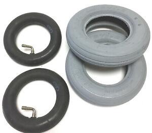 2x Reifen + Schlauch 8 1/2 x 2 Elektromobil Rollstuhl auch 220/120x50