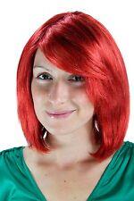 Perruque pour Femmes Rouge la Page de Crête Court Lisse Postiche 30cm 1215-137
