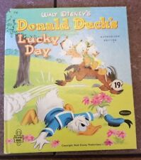 Walt Disney's Authorized Edition Donald Duck's Lucky Day 1951 Hc