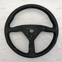 MOMO MONTECARLO LEATHER STEERING WHEEL MONTE CARLO BLACK 350MM 11111785225