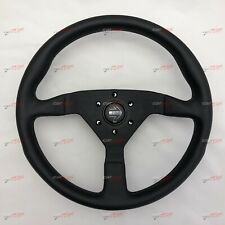 MOMO Montecarlo Black leather steering wheel 350mm MONTE CARLO 11111785225L