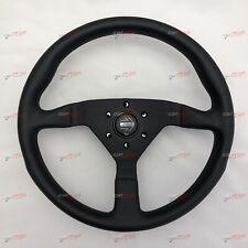 MOMO Montecarlo Black leather steering wheel 350mm MONTE CARLO 11111785225L