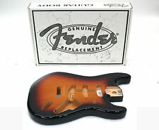 FENDER STRATOCASTER BODY VINTAGE BRIDGE-3-COLOR SUNBURST 099-8003-700 4 lbs 3 oz