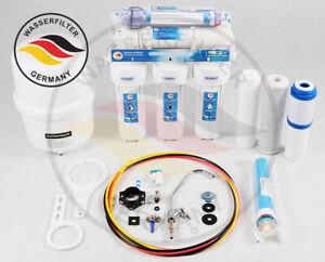 7 Stufen Umkehrosmose Anlage Osmose Anti Viren Bakterien RO Wasserfilter Germany