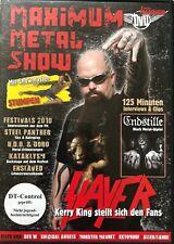 MAXIMUM METAL!. - SHOW - SLAVER - DVD