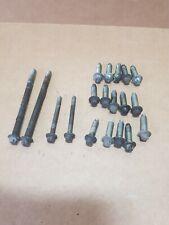 BMW 1 3 series E87 E90 E91 93 04-07  M47N2 engine oil sump oil pan mount bolts