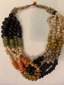 Love 41 By Saddleback Leather Beaded Knot Necklace
