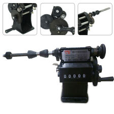 Best! Manual Coil Winding Machine Handheld Coils Winder Counter 0-99999 Counting