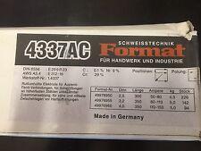 Format Stabelektrode 4337 AC 3,2 x 350MM 142 Stück - 5 KG