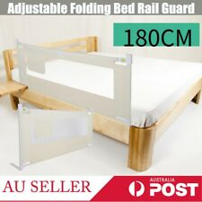 91cm Kids Child Bedguard Toddler Safety Bed Rail Guard Folding Protection AU