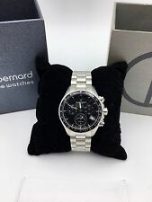 Claude Bernard Aquarider 36mm Lady Chronograph Swiss Made 10212 3 NIN