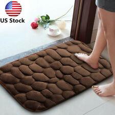 Non-Slip Memory Foam Bath Mat Shower Carpet Pad Bathroom Absorbent Rug 60cm