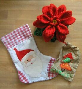 Weihnachten * Nikolausstiefel * Weihnachtsstiefel * Weihnachtssack * Sack